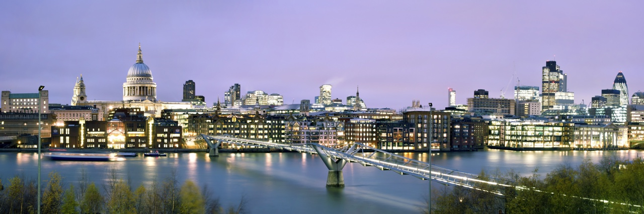 EBR Attridge London Skyline Night