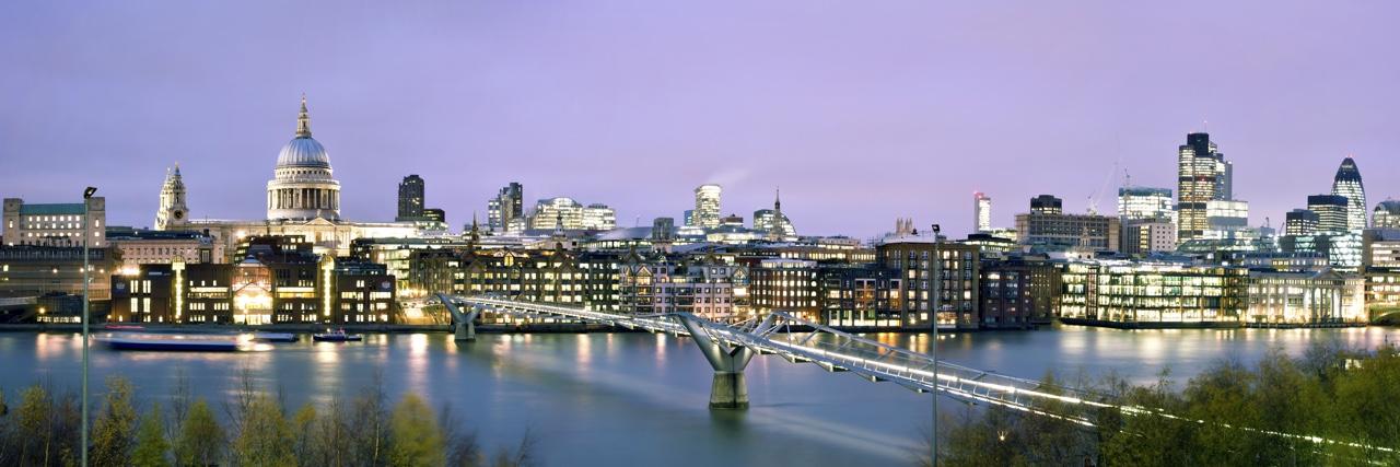 EBR Attridge London Skyline Night